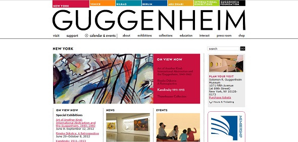 10 guggenheim - 40 Best Websites of Museums Quotes For Your Inspiration