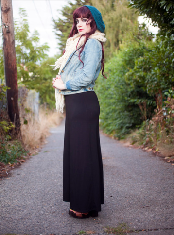 2 1 - Cool ideas to style in your Maxi dress this winter!