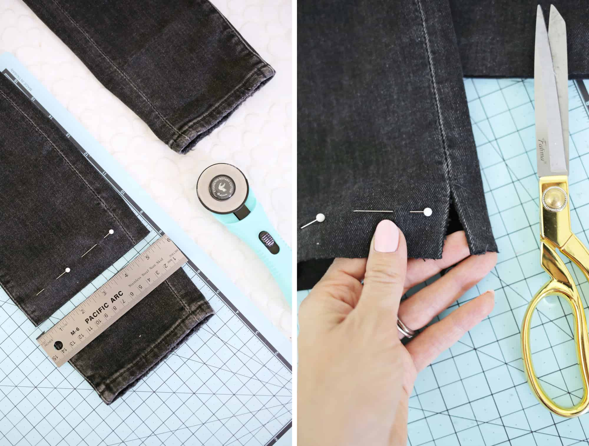 5 Ways to DIY The Biggest Jean Trends click through for tutorial 1 3 - Cool Ways to recycle your old jean! DIY