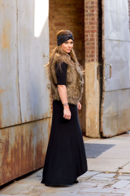 5 - Cool ideas to style in your Maxi dress this winter!