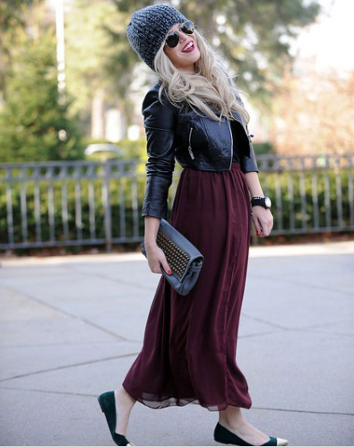 Capture 7 - Cool ideas to style in your Maxi dress this winter!