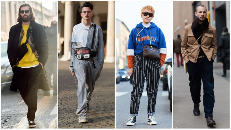 Cross Body Bags - Men's fashion trends 2018: What's unusual?