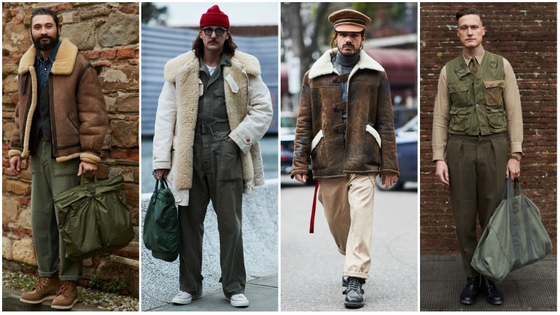 Military Men - Men's fashion trends 2018: What's unusual?