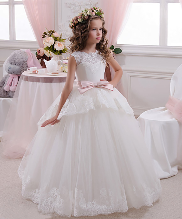 flower girl dress 10 - Super Cute Flower girl Dresses Ideas!