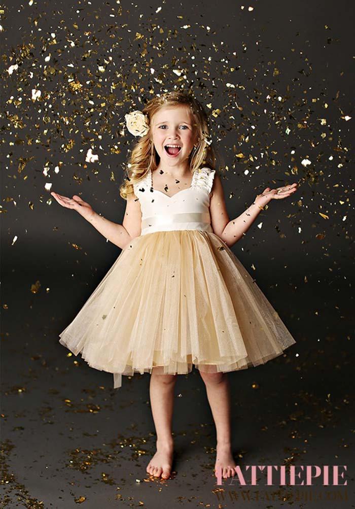 flower girl dress 9 - Super Cute Flower girl Dresses Ideas!