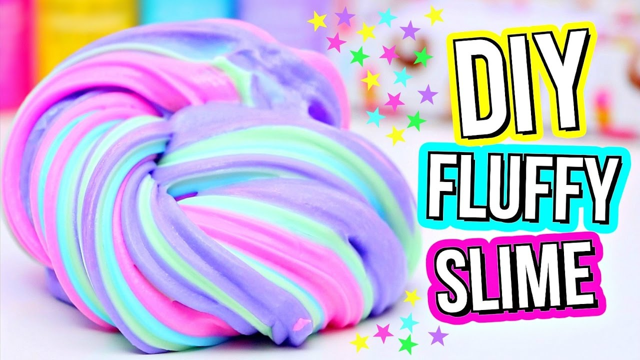 The Fun way of making Slime – DIY