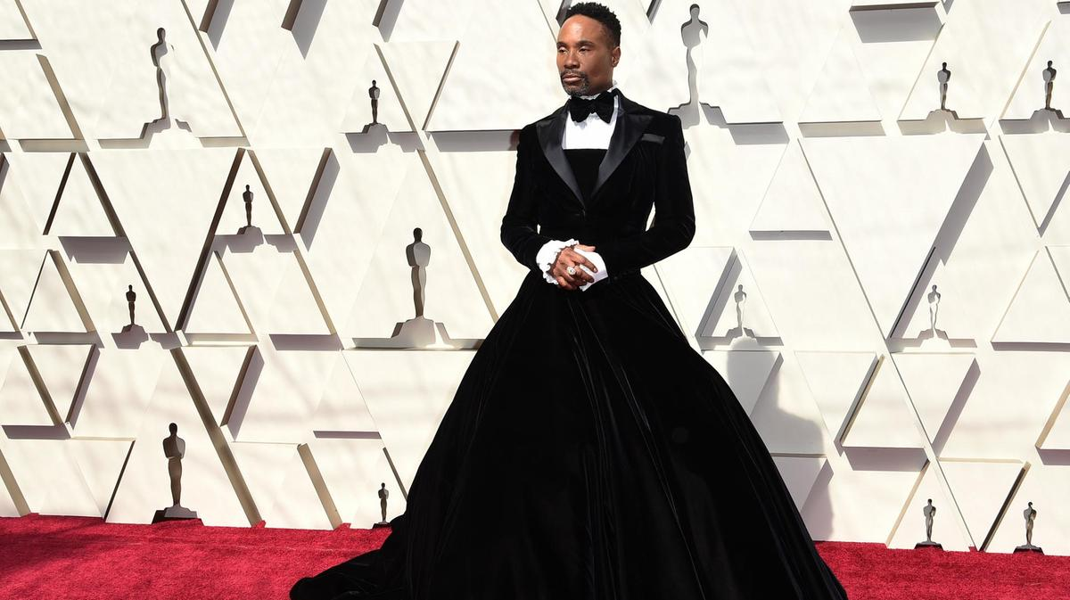 Billy Porter's Tuxedo Gawn at Oscars 2019