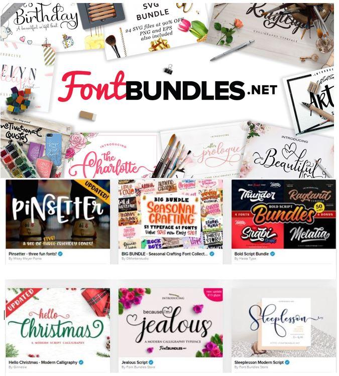 Fontbundles – The Sensational Fonts Database